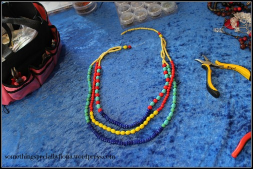 coloured necklace 1